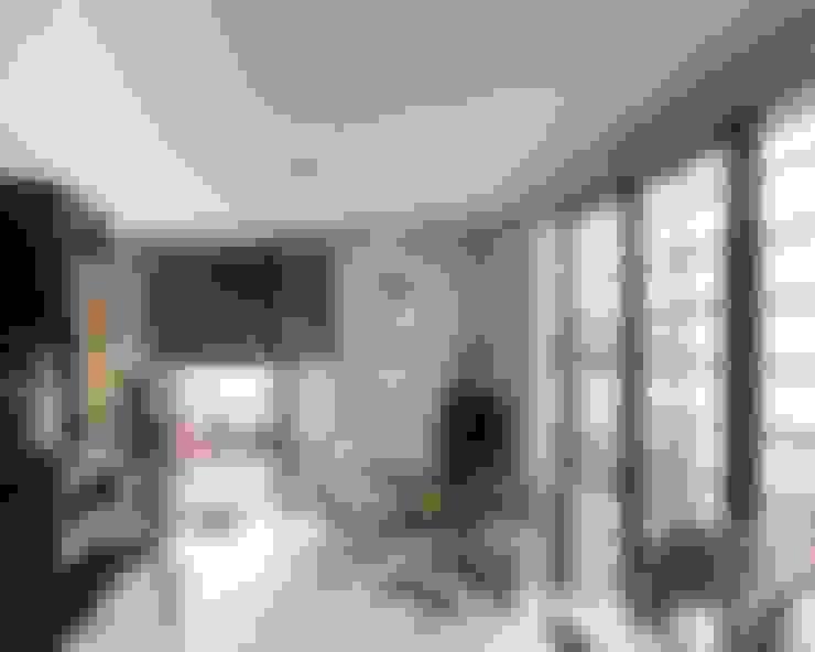 JA01   Cobertura: Salas de estar  por Kali Arquitetura