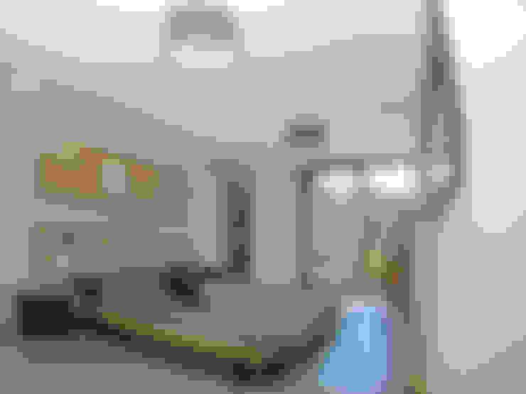 Slaapkamer door TRIBU ARCHITECTES