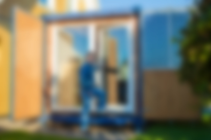 Maisons de style  par Stefan Brandt - solare Luftheizsysteme und Warmuftkollektoren