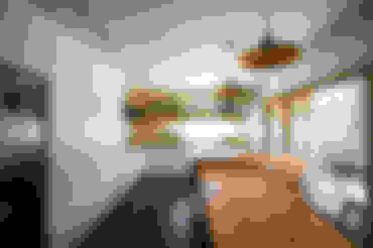 مطبخ تنفيذ 비온후풍경 ㅣ J2H Architects