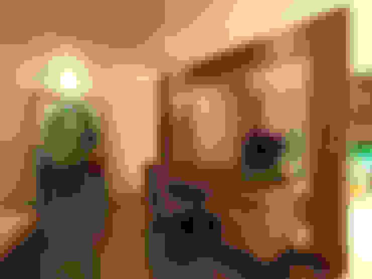 TELOS İÇ MİMARLIK VE TASARIM – GARDEN MODERN VILLALARI - MOZAMBIK:  tarz Yatak Odası