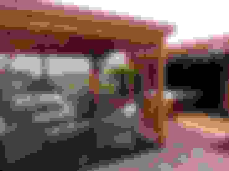 Balcones y terrazas de estilo  por RicreArt - Italmaxitetto