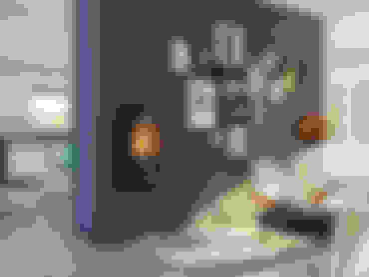 Living room تنفيذ Speicherofen Bernhard Schleicher e.K.