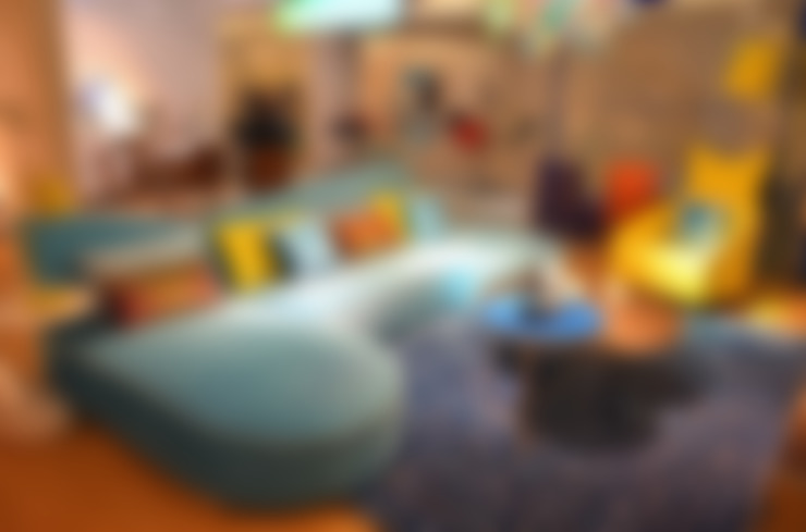 Gllamor Fabric sofa:  Living room by Gllamor