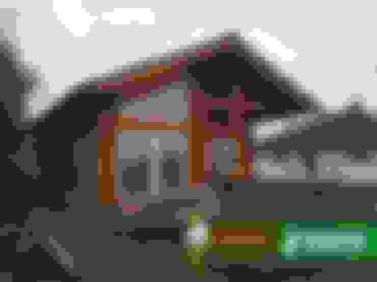 Дома в . Автор – Woody-Holzhaus - Kontio