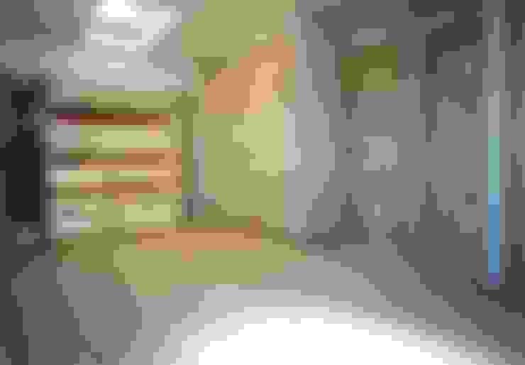 Recámaras infantiles de estilo  por 小栗建築設計室