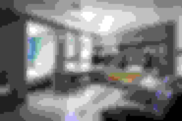 غرفة المعيشة تنفيذ housetherapy