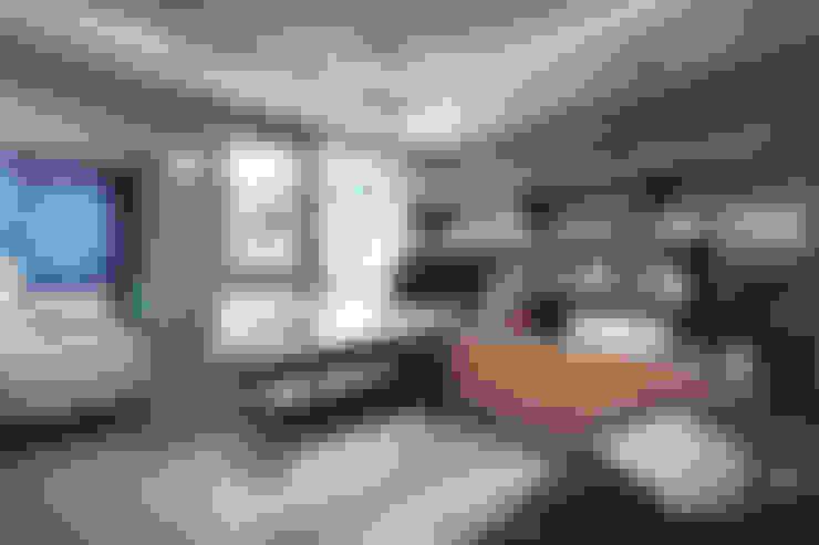 Гостиная в . Автор – housetherapy