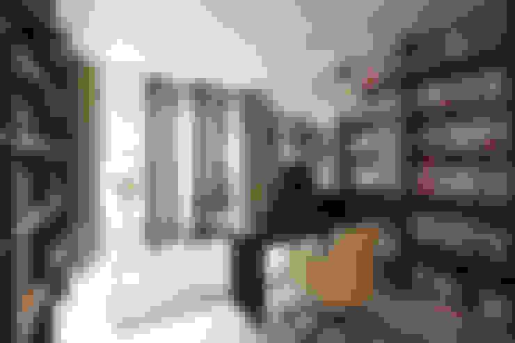 ห้องทำงาน/อ่านหนังสือ by housetherapy