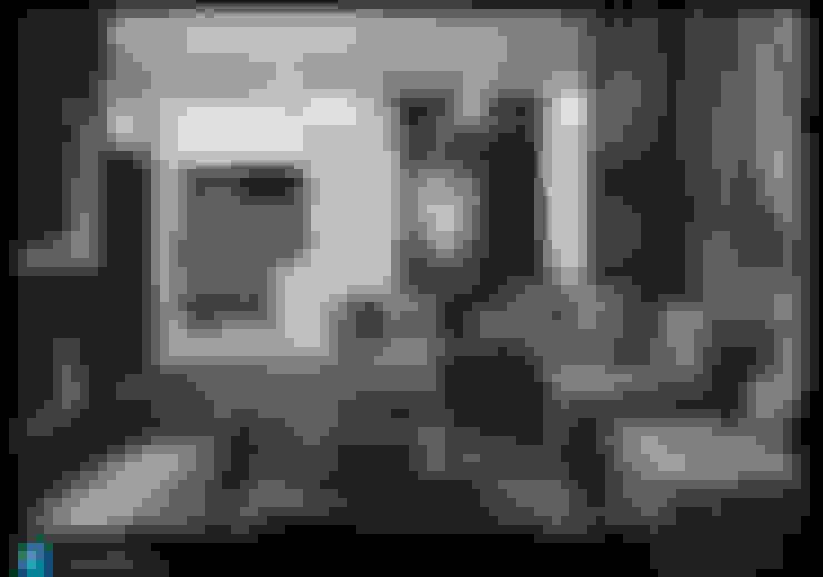 la sala: Salas de estilo  por Excelencia en Diseño
