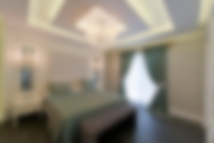 VRLWORKS – Ümit Aslan Villası Kemer:  tarz Yatak Odası