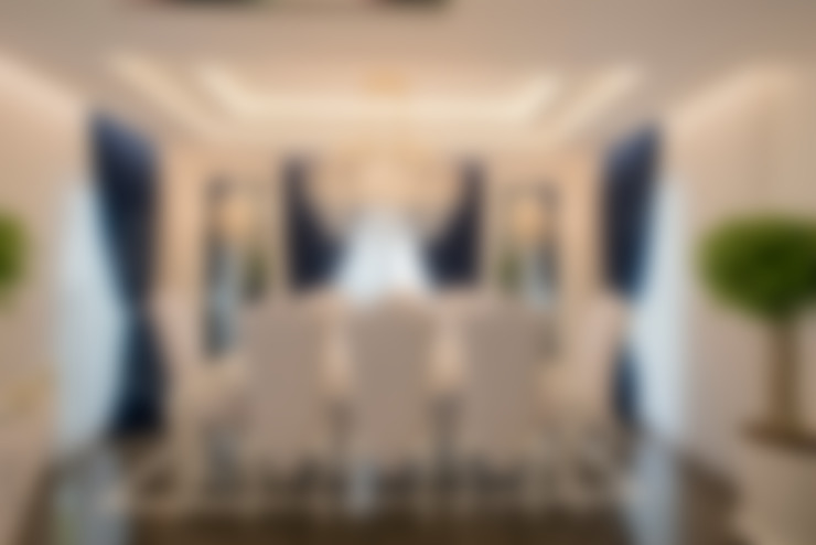 VRLWORKS – Ümit Aslan Villası Kemer:  tarz Yemek Odası