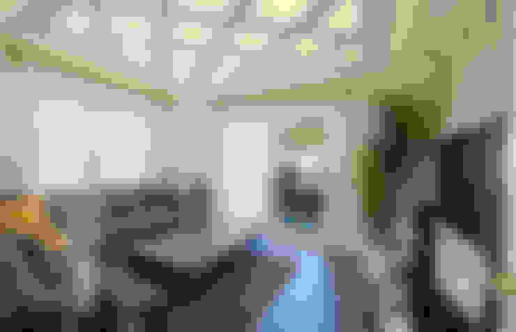 VRLWORKS – Ümit Aslan Villası Kemer:  tarz Oturma Odası