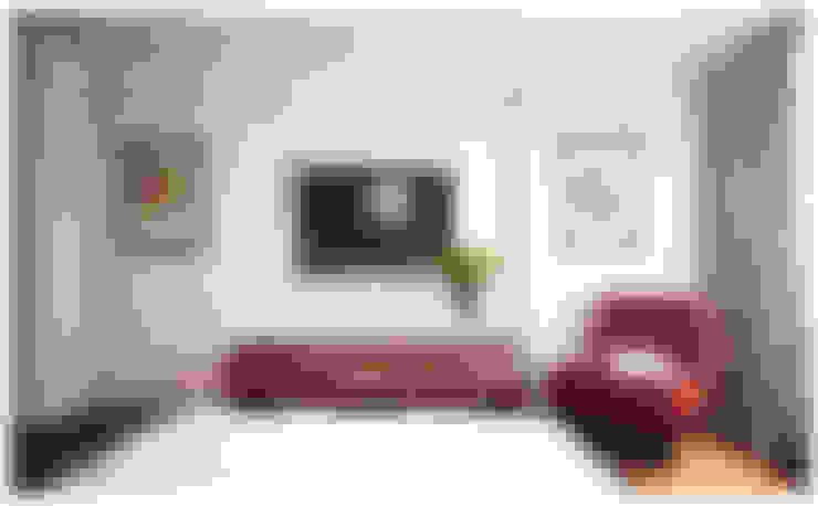 غرفة نوم تنفيذ Alexander Krivov