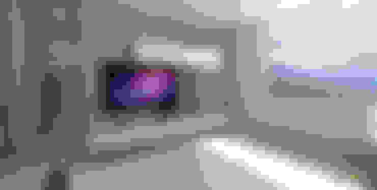 Dormitorios de estilo  por TRESD ARQUITECTURA Y CONSTRUCCIÓN DE ESPACIOS