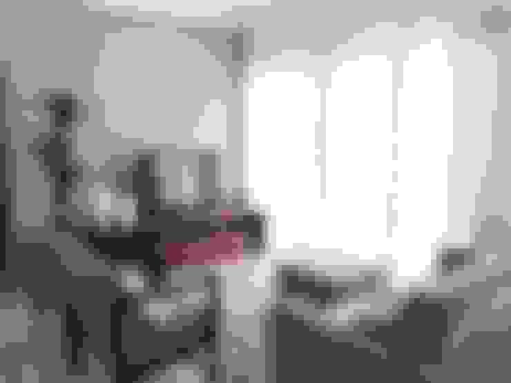 REFORMA HOME THEATER: Salas multimídia  por Vanessa Corleto