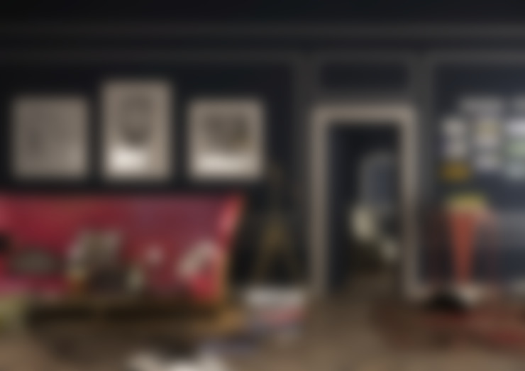 Ceren Torun Yiğit  – Pink Sofa / Interior Skech:  tarz Oturma Odası