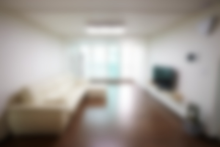 죽전 한양수자인아파트 리모델링 : DESIGNSTUDIO LIM_디자인스튜디오 림의  거실