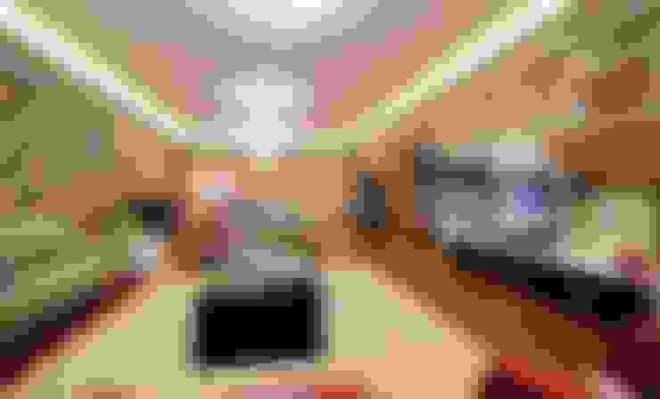 QZENS MOBİLYA – Göktürk Konutu:  tarz Oturma Odası
