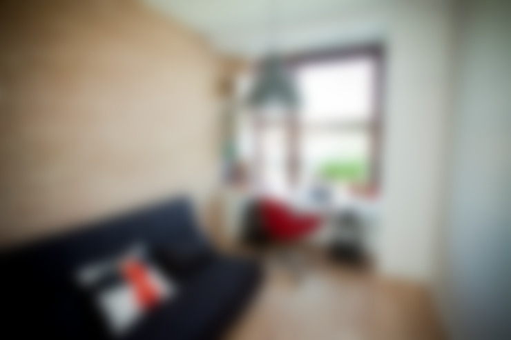 Study/office by ZAWICKA-ID Projektowanie wnętrz