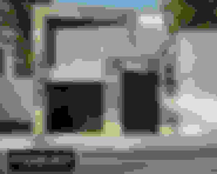 Casas de estilo  por Modulor Arquitectura