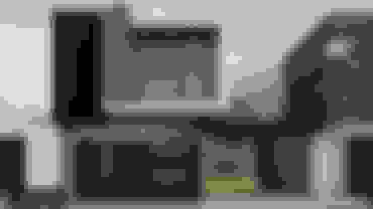 Projekty,  Domy zaprojektowane przez Modulor Arquitectura