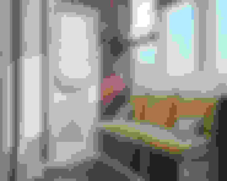 """Визуализации проекта """"Частичка Скандинавии"""": Tерраса в . Автор – Alyona Musina"""