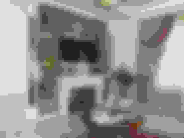 КОЛЮПАНОВО: Гостиная в . Автор – СТУДИЯ ДИЗАЙНА ЭЛИТНЫХ ИНТЕРЬЕРОВ АЛЕКСАНДРА ЕЛАШИНА.