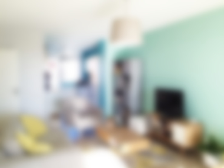 غرفة المعيشة تنفيذ Mint Design