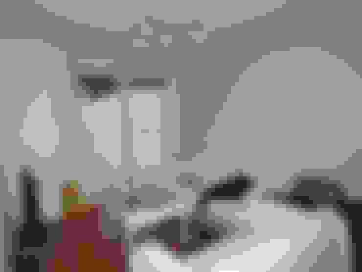 Гостиная в . Автор – Empresa constructora en Madrid