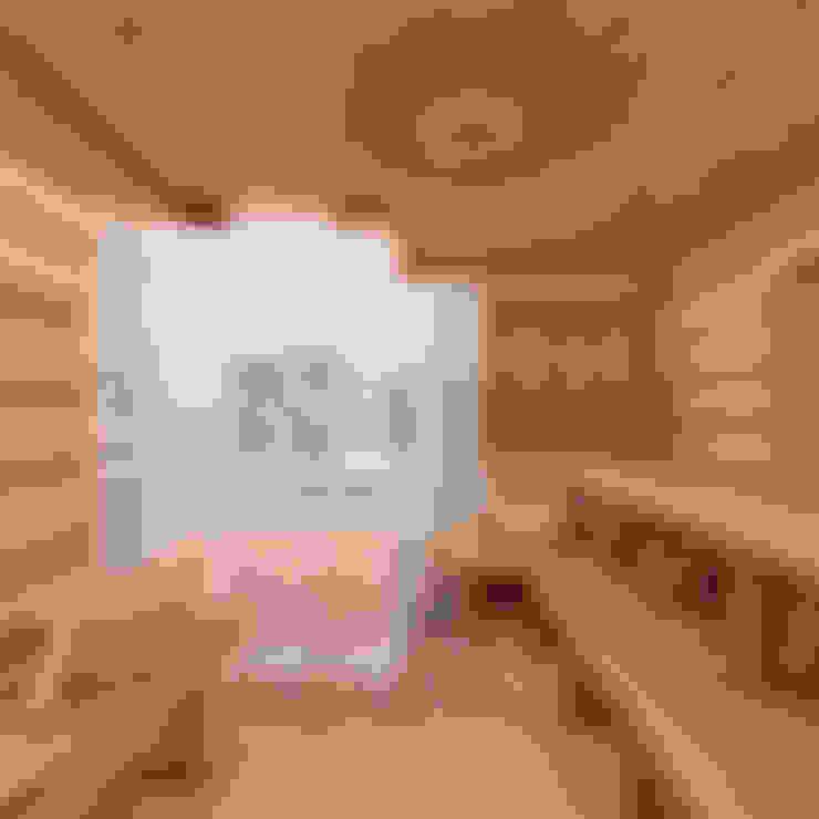 Дизайн интерьера парилки в русской бане в г. Москва. : Спа в . Автор – Дизайн студия 'Дизайнер интерьера № 1'