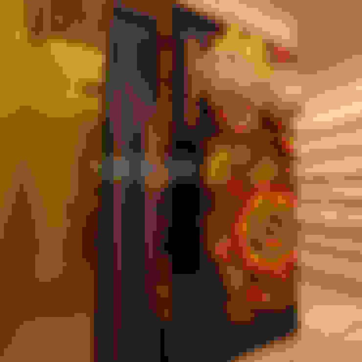 Дизайн интерьера помывочной в русской бане в г. Москва. : Спа в . Автор – Дизайн студия 'Дизайнер интерьера № 1'