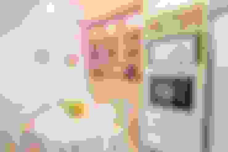 Cobertura Recreio dos Bandeirantes- RJ: Cozinhas  por Duplex Interiores