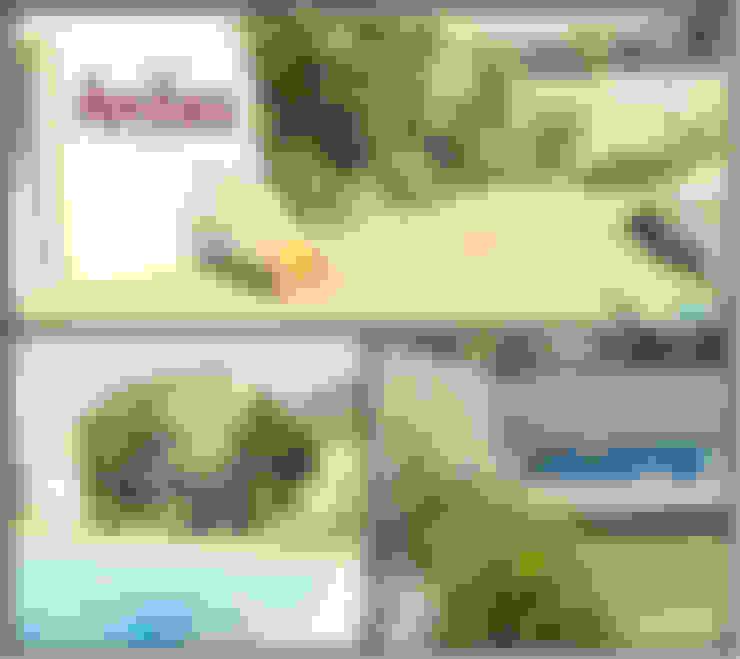 Jardines de estilo  de LAS MARIAS casa & jardin