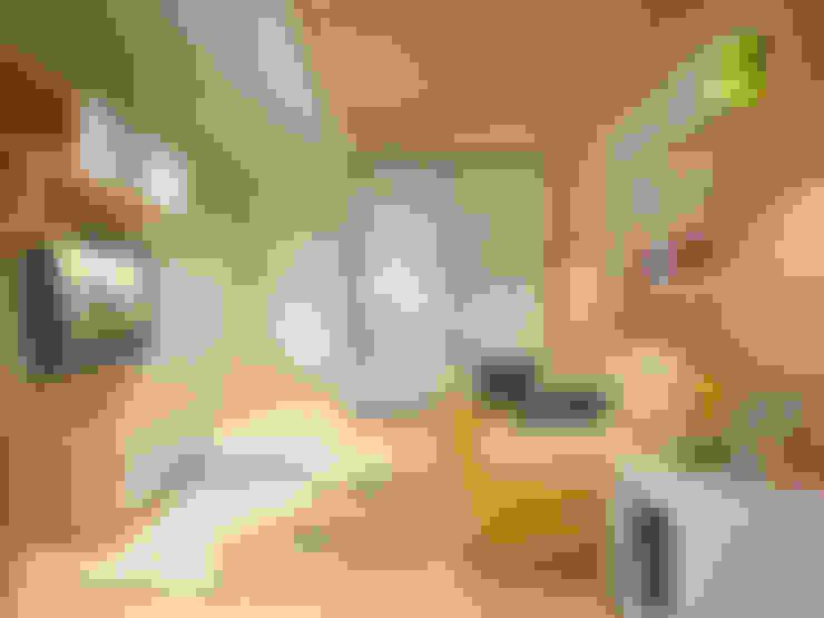Двухуровневая квартира в Подмосковье: Детские комнаты в . Автор – EEDS дизайн студия Евгении Ермолаевой