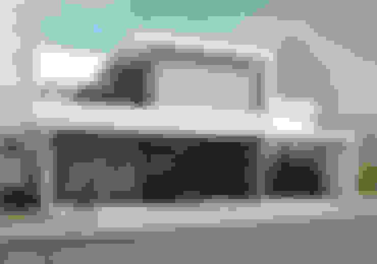 Casas de estilo  por TAQ arquitectura