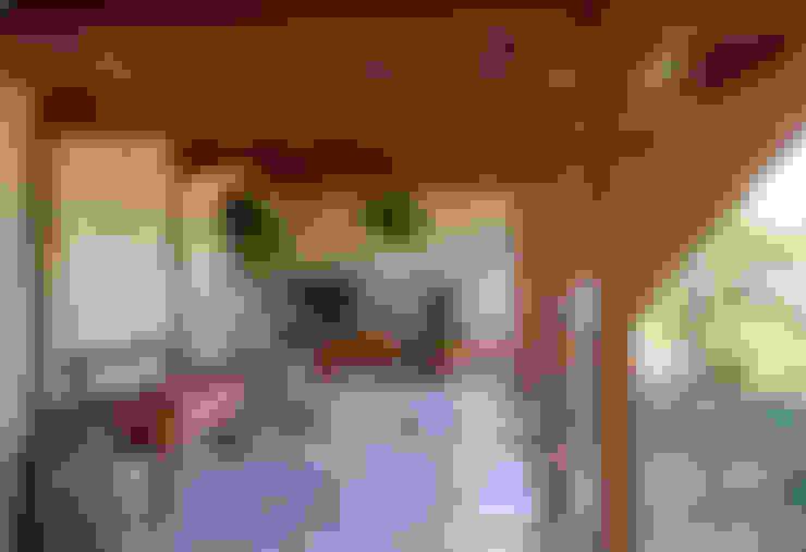庭院 by Samy & Ricky Arquitetura
