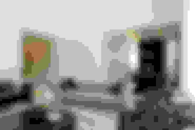Salas de estilo  por Camila Castilho - Arquitetura e Interiores