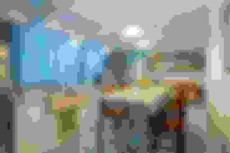 APARTAMENTO FO: Cozinhas  por Studio Boscardin.Corsi Arquitetura