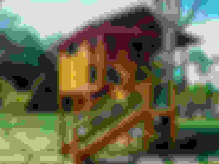 de estilo  por CASA & CAMPO - Casas pré-fabricadas em madeiras