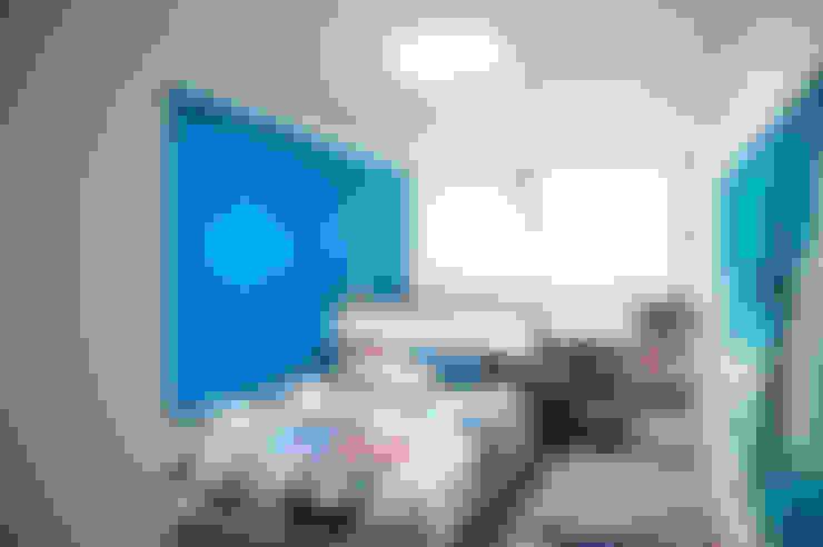 가구를 위한 모던인테리어 : 퍼스트애비뉴의  아이방