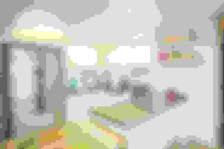개성있는 침실이 있는 왕십리 인테리어: 퍼스트애비뉴의  주방