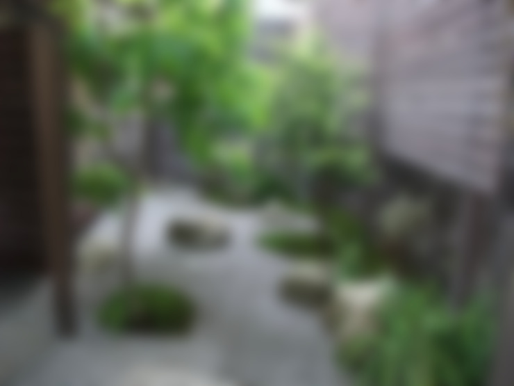 Jardines de estilo  por 庭園空間ラボ teienkuukan Labo