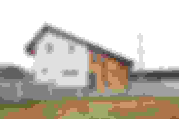 Projekty,  Taras zaprojektowane przez 위드하임