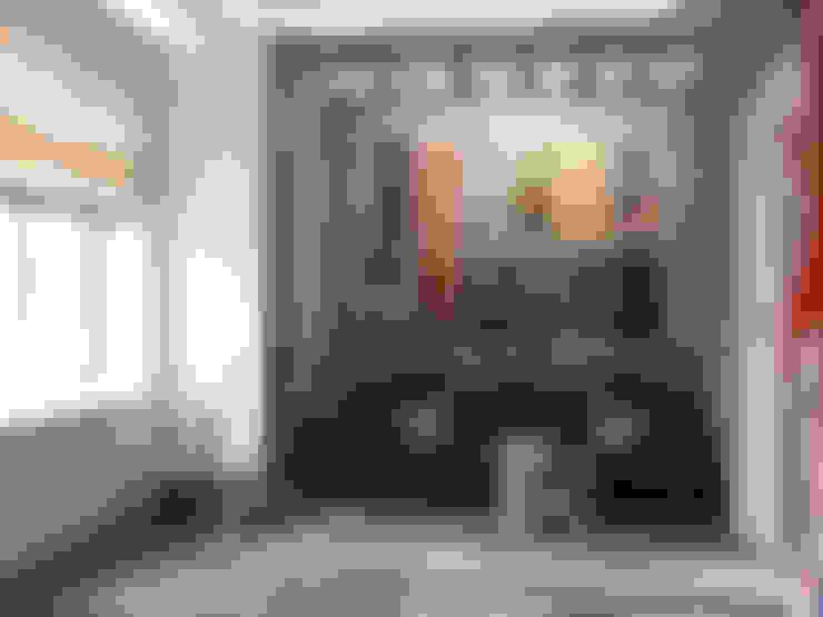 Projekty,  Salon zaprojektowane przez Студия дизайна интерьера Маши Марченко