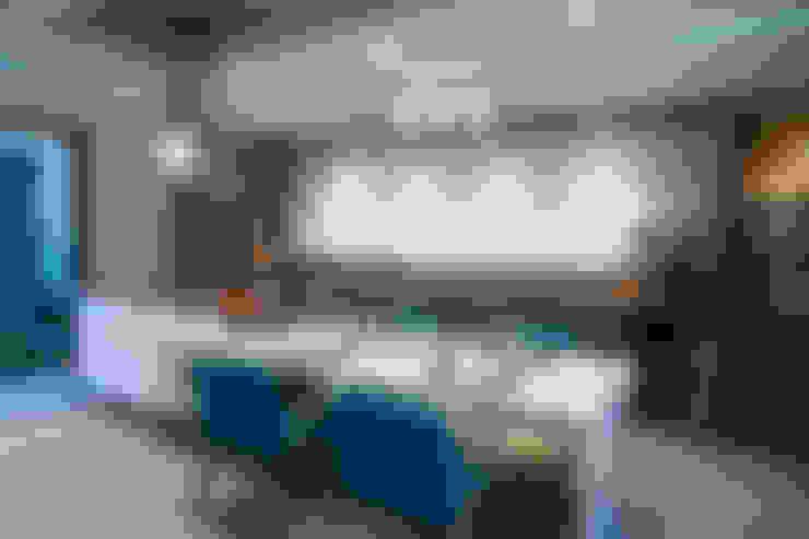 Cocinas de estilo  de arketipo-taller de arquitectura