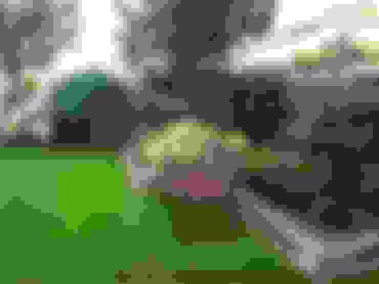 Projekt przydomowego ogrodu w podwarszawskim Konstancinie: styl , w kategorii Ogród zaprojektowany przez LandAR Projects Sp. z o.o.