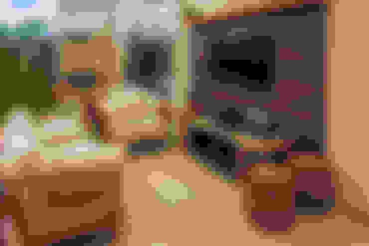 Projeto: Salas de estar  por Heloisa Titan Arquitetura