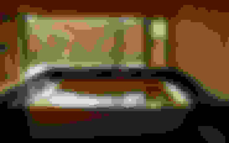 Baños de estilo  por AMI ENVIRONMENT DESIGN/アミ環境デザイン