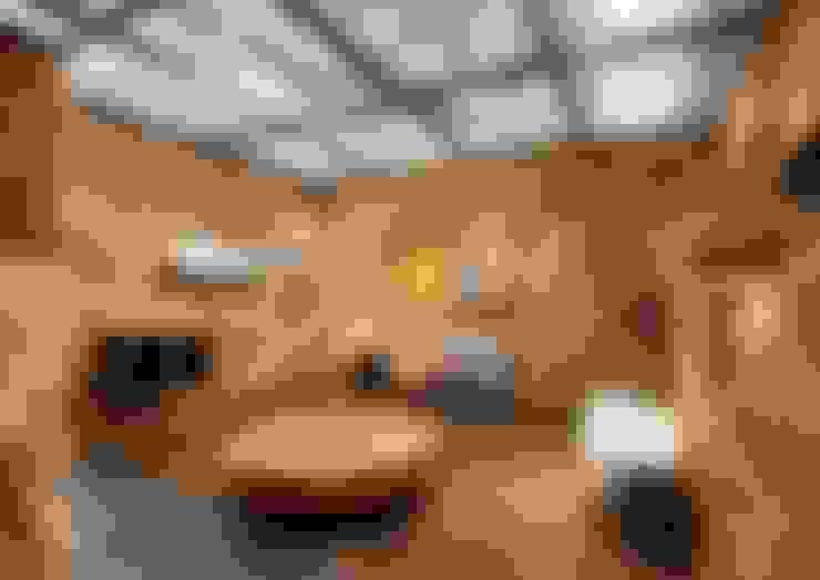 Living room by Eco House Turkey Saman - Kerpic Ev